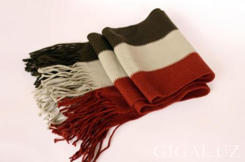 SEDAT TRIKO TASHKENT - шарф в продольную полоску
